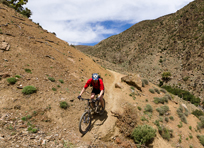 Remote singletrack at Freeridemorocco
