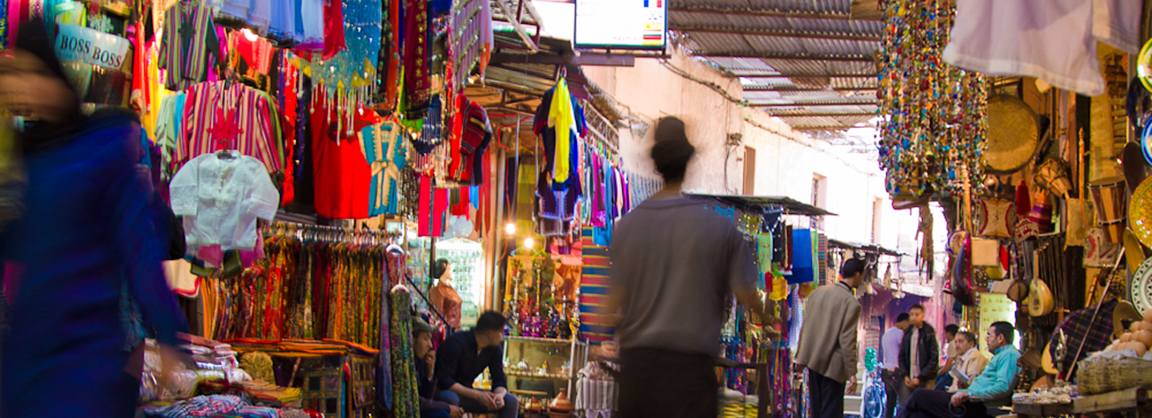 Andy nelson photo whilst at Freeridemorocco. The souks in Marrakech