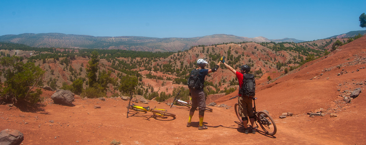 Moroccos red rock singletrack heaven at Freeridemorocco